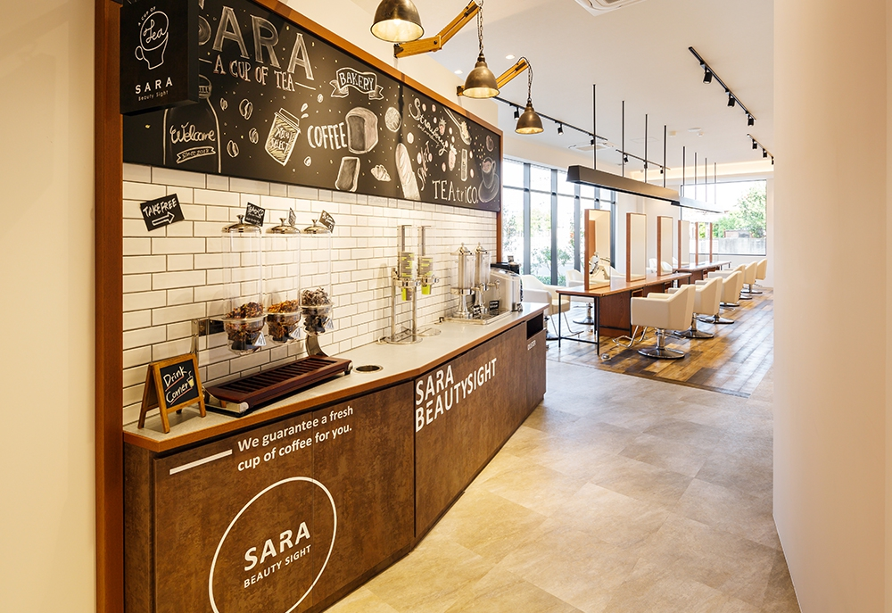 SARA Beauty Sight 志免店 店内